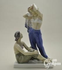 "Скульптура ""После купания"""